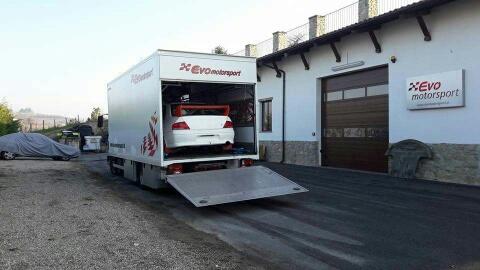 Trasporto auto Evomotorsport